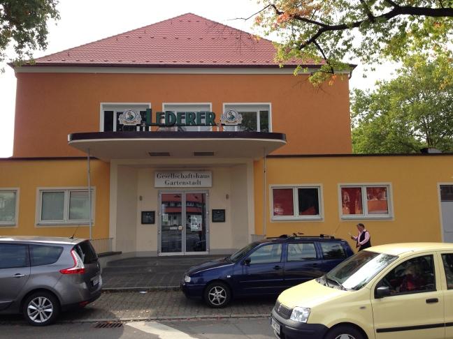 Entrance Gesellschaftshaus