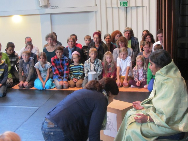 Children's Darshan in Nuremberg