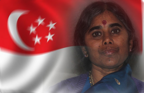 Mother Meera in Singapore