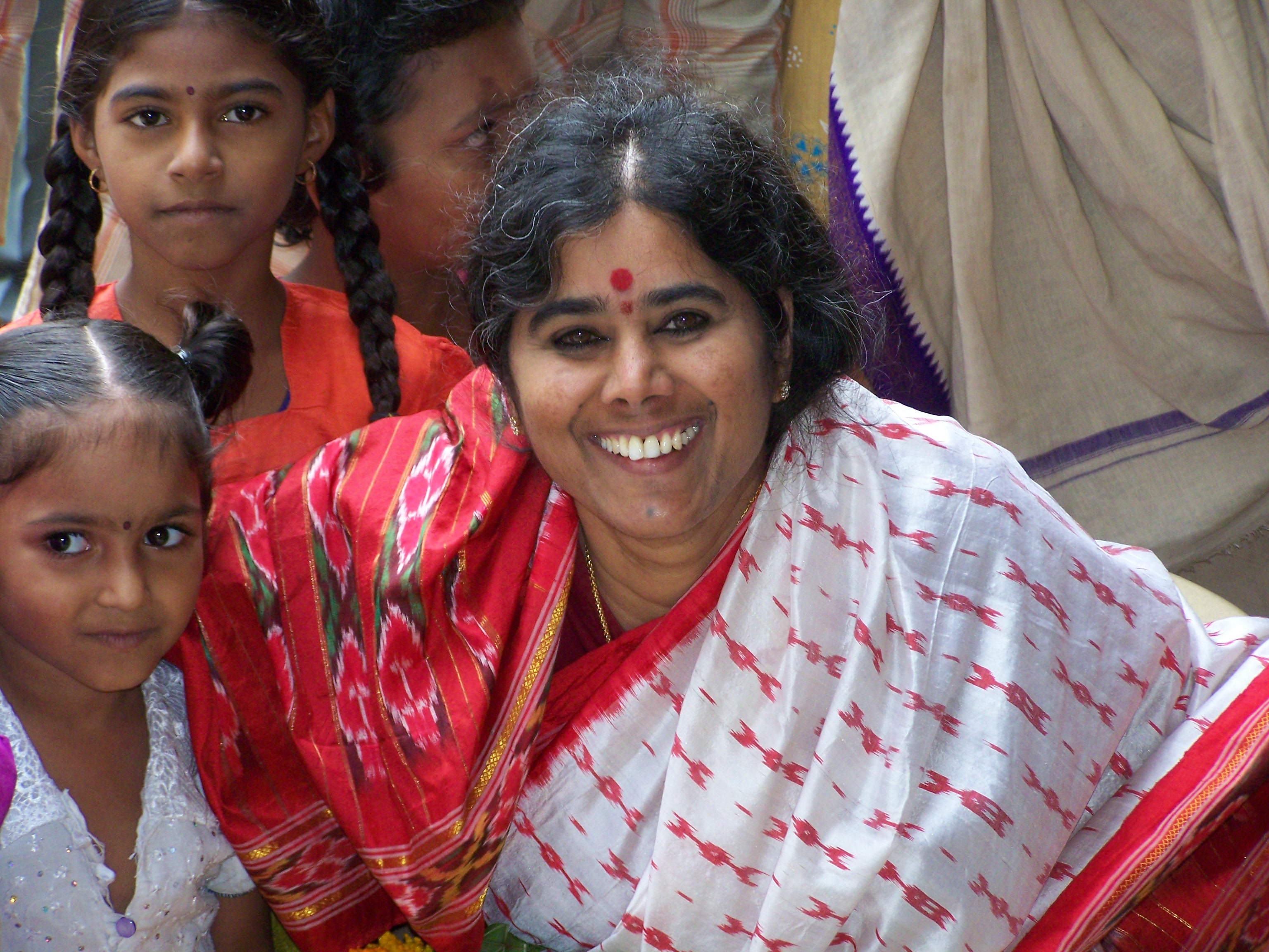 Mother Meera in India